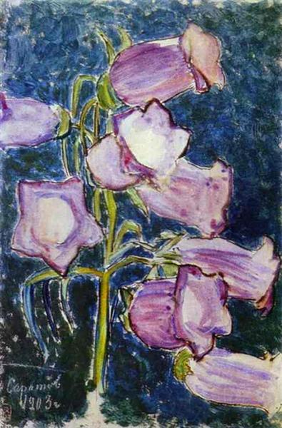 Bluebells, 1903 - Victor Borisov-Musatov