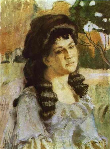 Portrait of a Lady, 1902 - Victor Borisov-Musatov