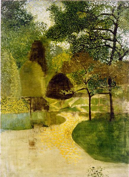The Park, 1947 - Victor Pasmore