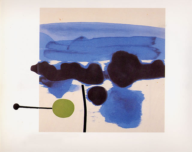 The Passion Flower, 1986 - Victor Pasmore