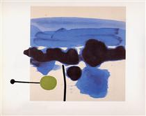 The Passion Flower - Victor Pasmore
