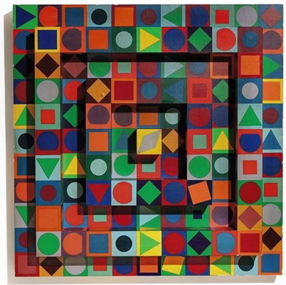 Folklore, 1963 - Victor Vasarely