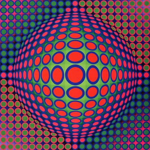 Vega 200, 1968 - Victor Vasarely