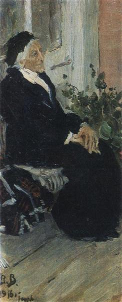 M.I. Ryazantseva, 1901 - Viktor Vasnetsov