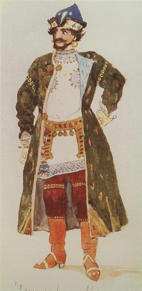 Mizgir, 1885 - Viktor Vasnetsov