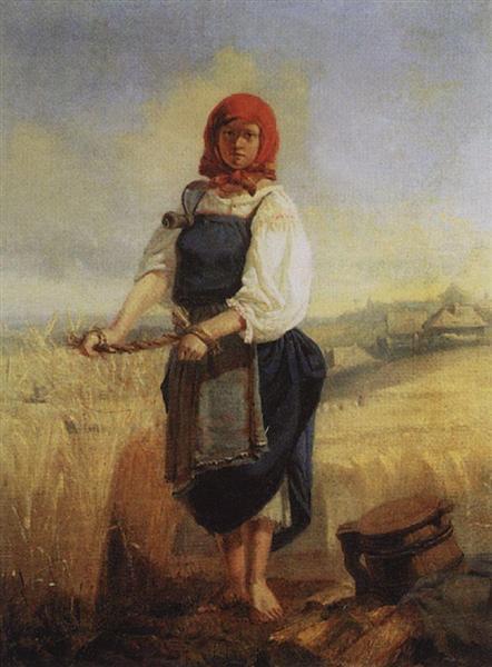 Reaper, 1867 - Viktor Vasnetsov
