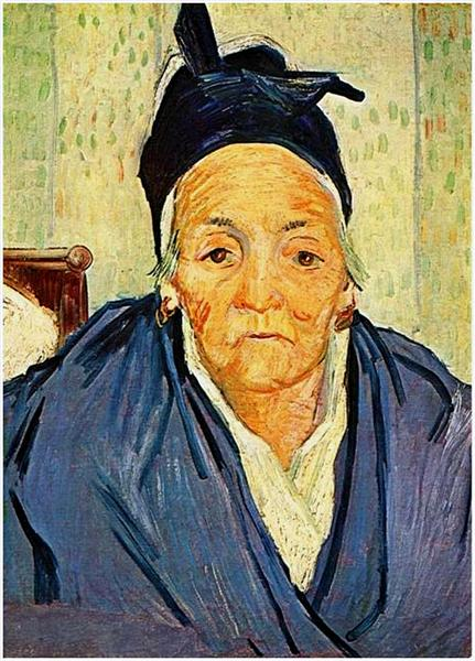 An Old Woman of Arles, 1888 - Vincent van Gogh