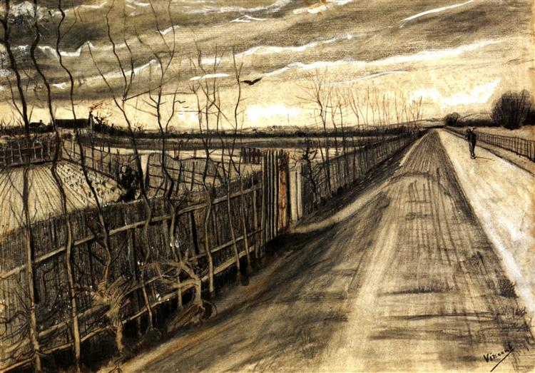 Country Road, 1890 - Vincent van Gogh