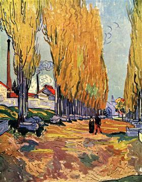 Les Alyscamps, Vincent van Gogh