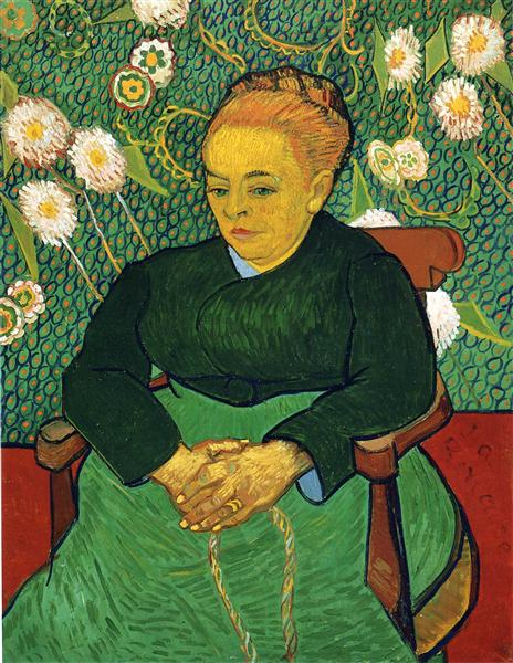 Madame Roulin Rocking the Cradle (A lullaby) - Vincent van Gogh