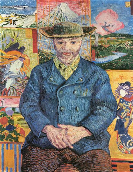 Père Tanguy, c.1888 - Vincent van Gogh