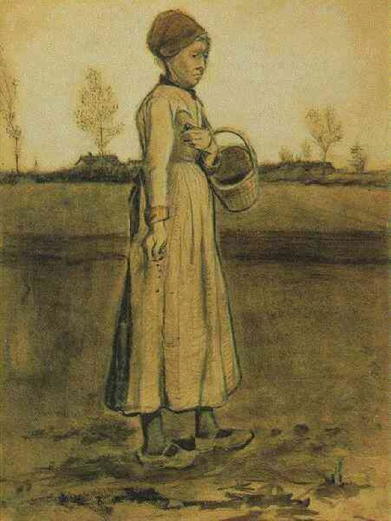 Peasant Woman Sowing with a Basket, 1881