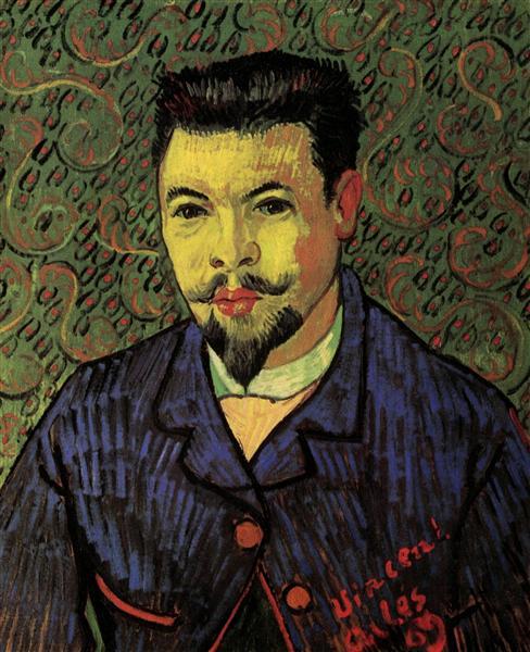 Portrait of Dr. Felix Rey, 1889 - Vincent van Gogh