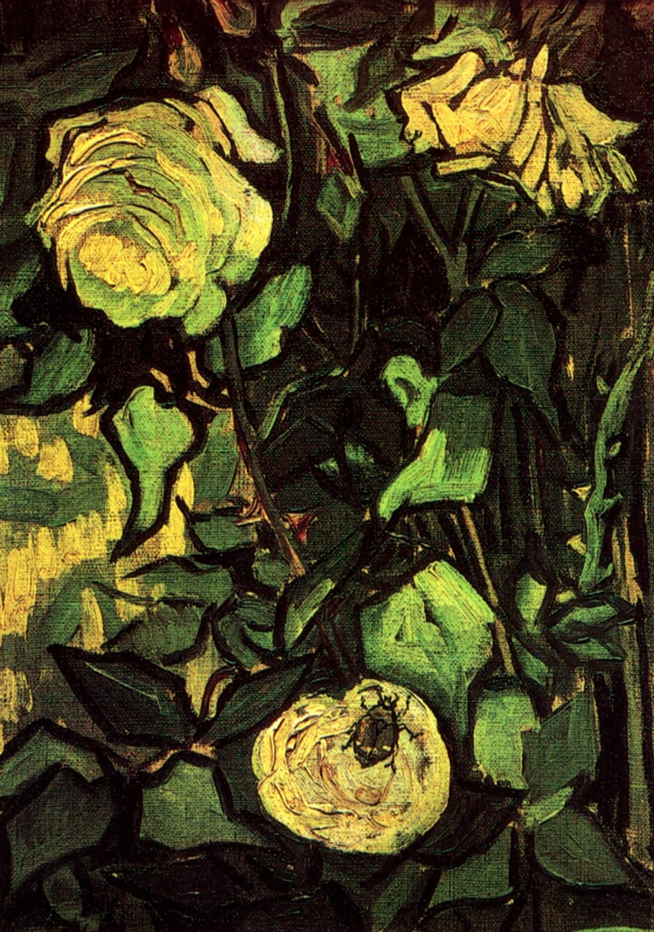 Vase Of Flowers 1896 Paul Gauguin Wikiart