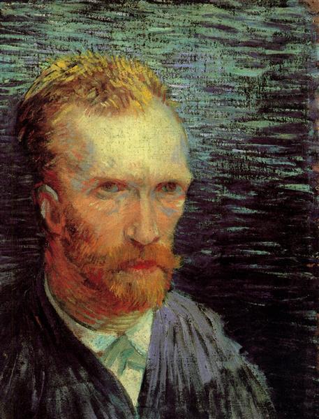Self Portrait 1887 Vincent Van Gogh Wikiart Org