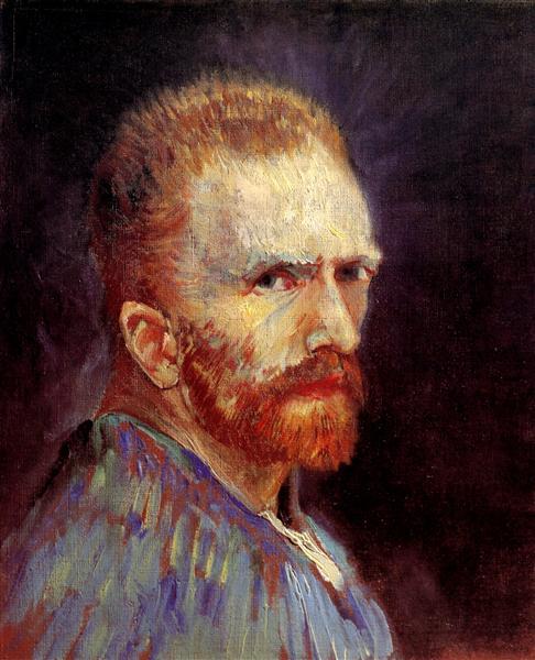Self-Portrait, 1887 - Vincent van Gogh