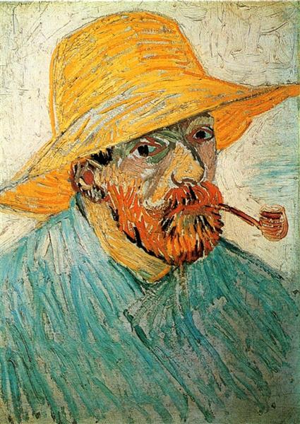 Self Portrait 1888 Vincent Van Gogh Wikiart Org