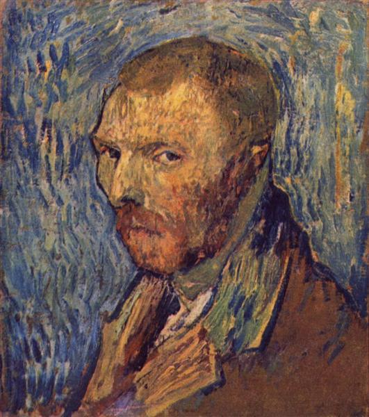 Self-portrait, 1889 - Vincent van Gogh
