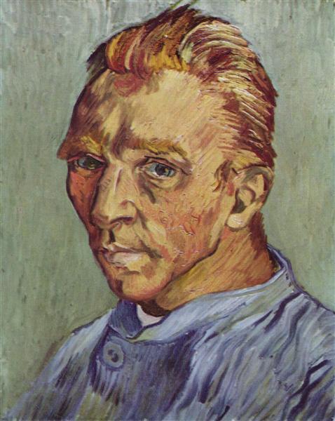 Self-Portrait, 1889 - Винсент Ван Гог