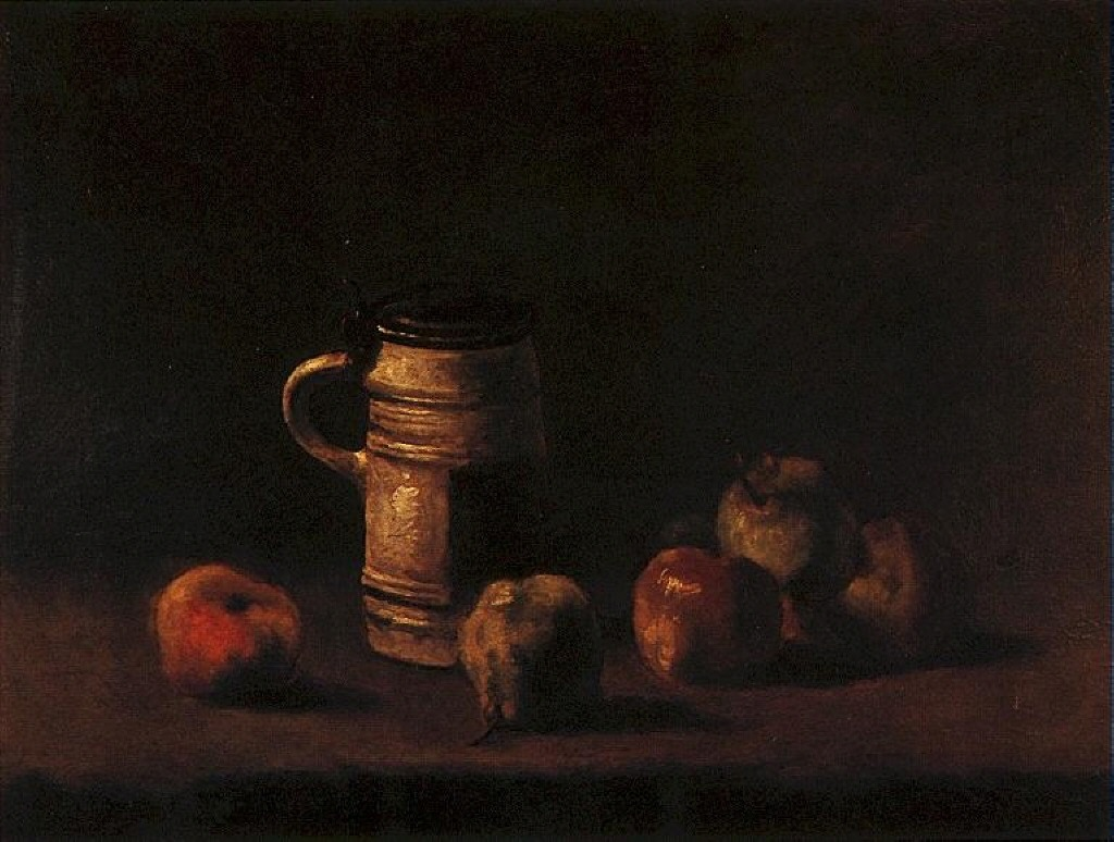 Still Life with Beer Mug and Fruit, 1881