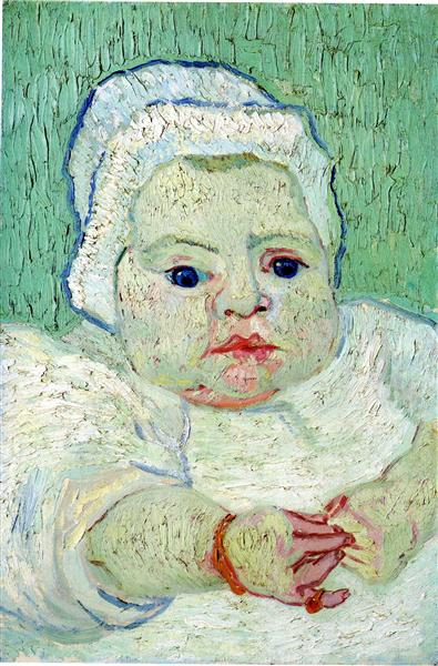 The Baby Marcelle Roulin, 1888 - Vincent van Gogh