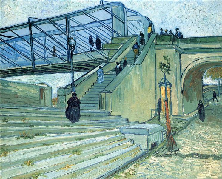 The Trinquetaille Bridge, 1888 - Vincent van Gogh
