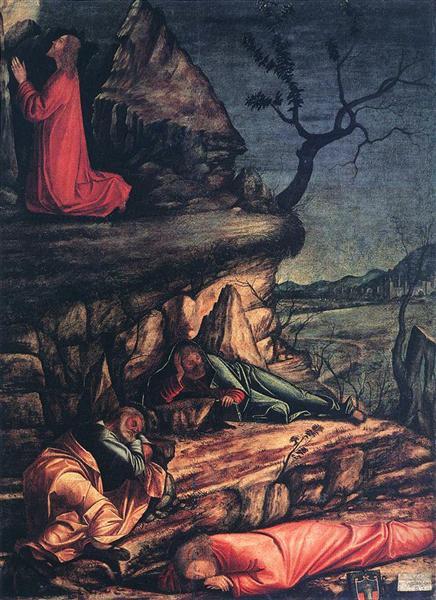 The Agony in the Garden, 1502 - Vittore Carpaccio