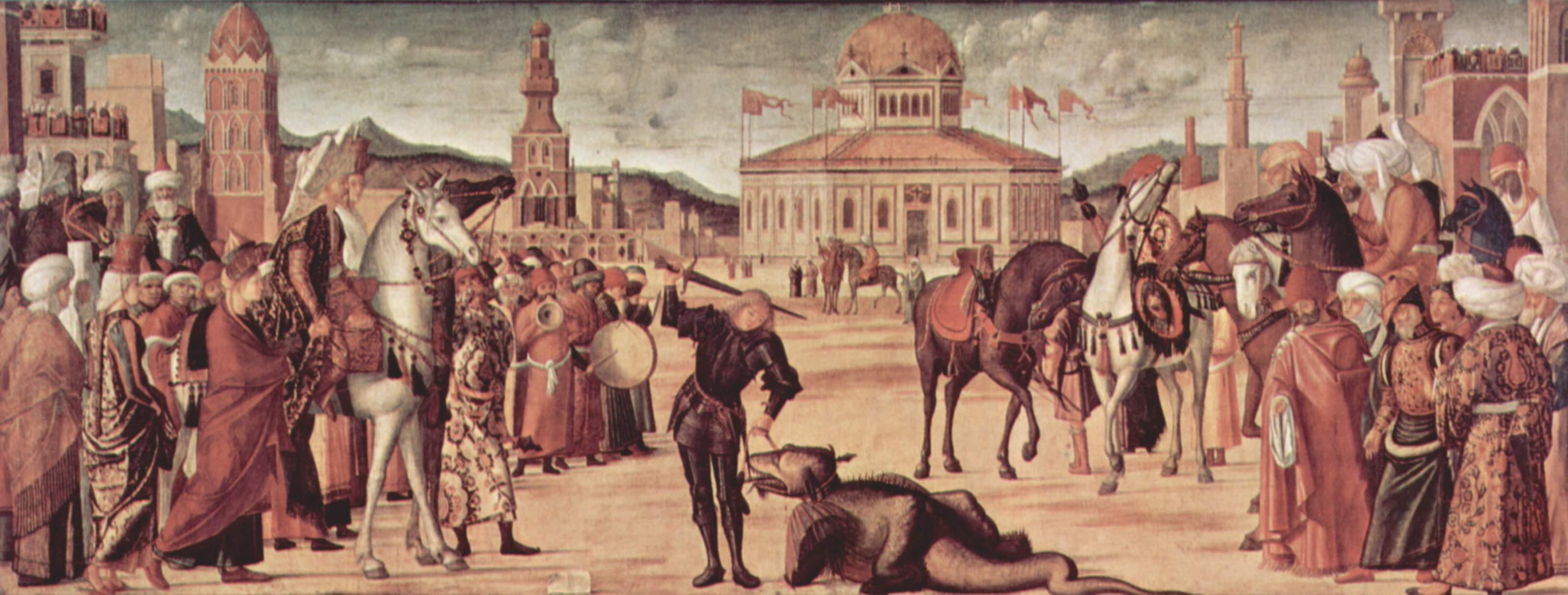 St. Mark Preaching in Alexandria, 1504 - 1507 - Giovanni Bellini -  WikiArt.org