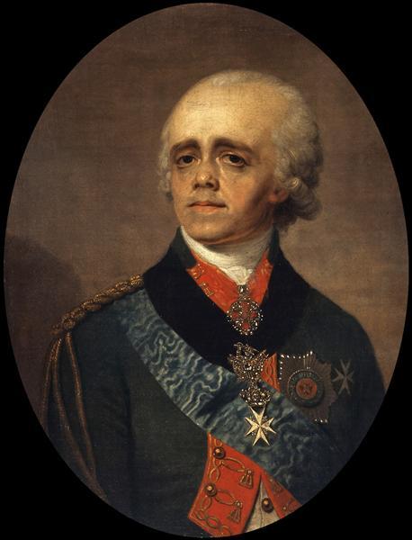 Paul I - Vladimir Borovikovsky