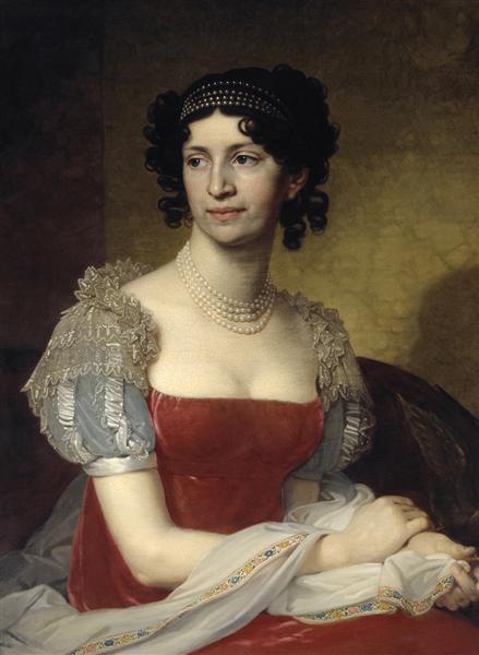 Portrait of Princess Margarita Ivanovna Dolgorukaya - Vladimir Borovikovski