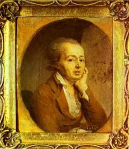 Portrait of the Artist Dmitry Levitzky, 1796 - Vladimir Borovikovsky