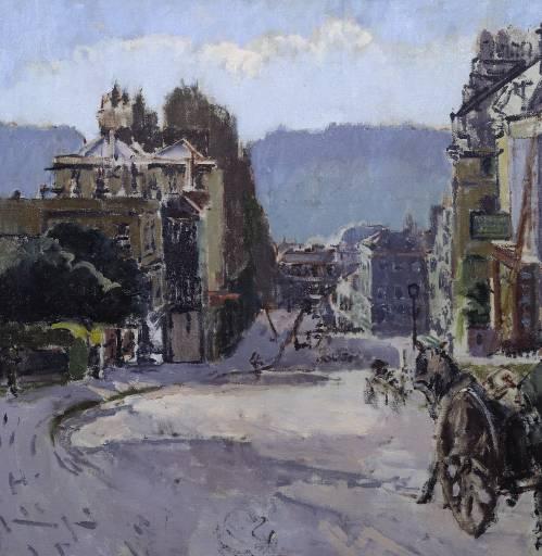 Belvedere, Bath, c.1917 - Walter Sickert