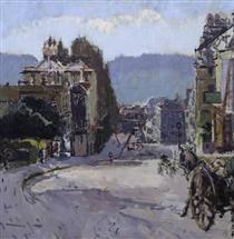 Belvedere, Bath - Walter Sickert