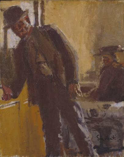 Off to the Pub, c.1912 - Walter Sickert