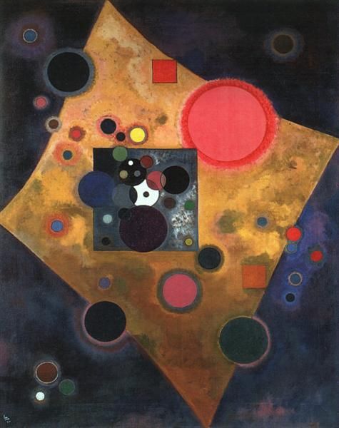 Accent on rose, 1926 - Wassily Kandinsky