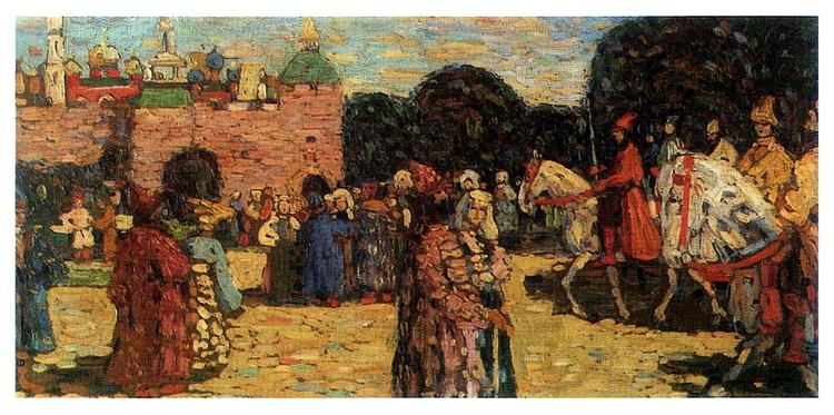 Ancient Russia, 1904 - Wassily Kandinsky