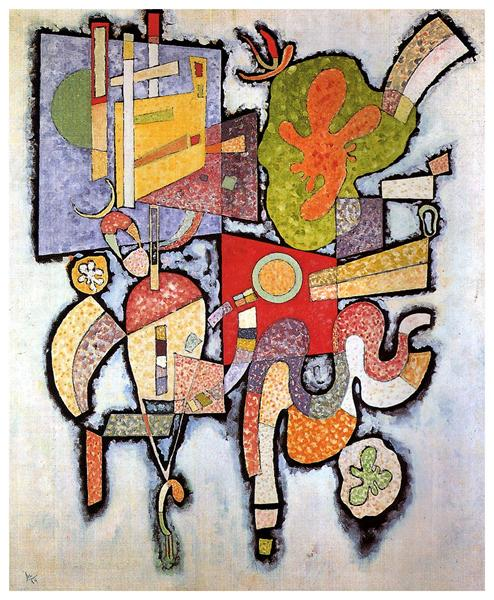 Complex Simple, 1939 - Wassily Kandinsky