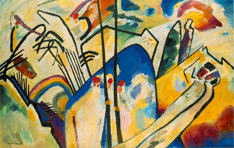 Composition IV - Kandinsky Wassily