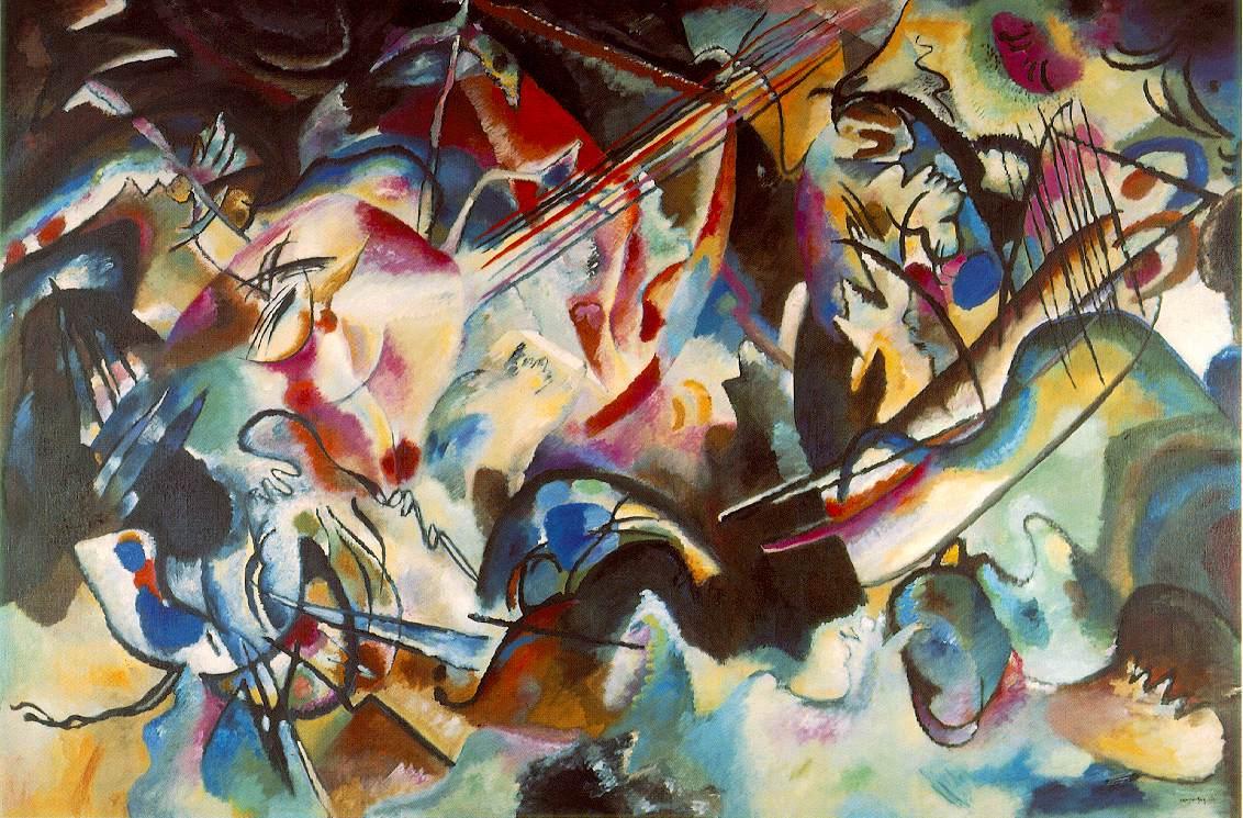 Original Wassily Kandinsky Abstract Art
