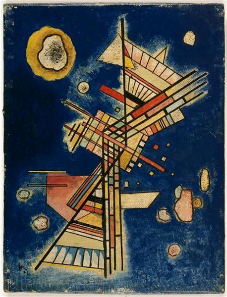 Dark freshness, 1927 - Wassily Kandinsky