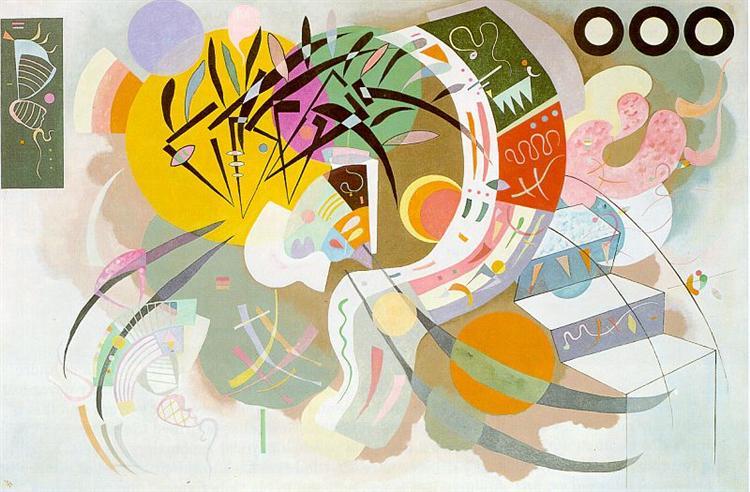Dominant curve, 1936 - Wassily Kandinsky