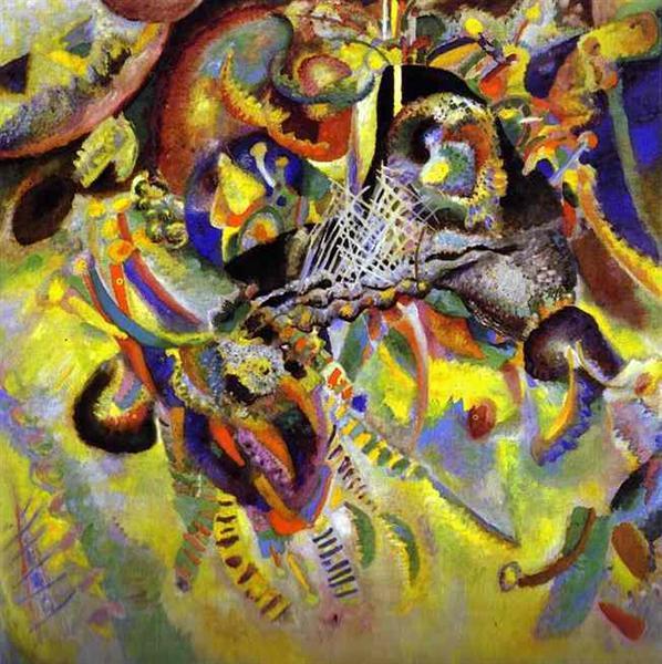Fugue, 1914 - Wassily Kandinsky