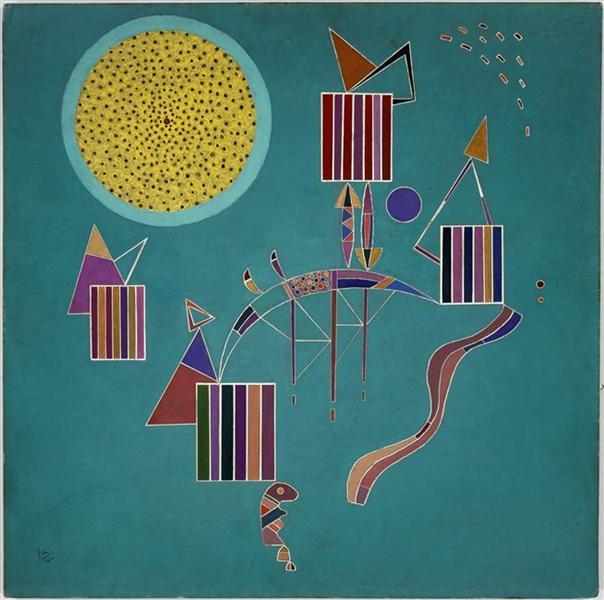 Intime message, 1942 - Wassily Kandinsky