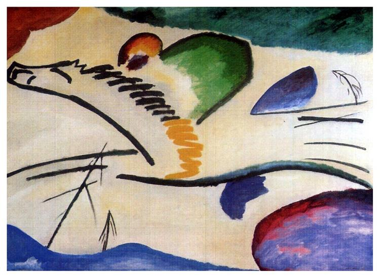 Lyrical (Lyrics), 1911 - Wassily Kandinsky