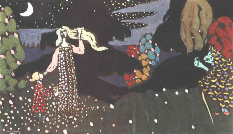 Night, 1907 - Wassily Kandinsky