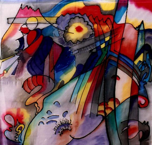293, 1913 - Wassily Kandinsky