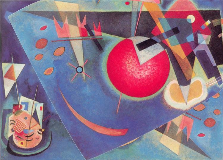 Blue, 1925 - Wassily Kandinsky