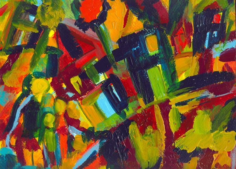 304, 1910 - Wassily Kandinsky