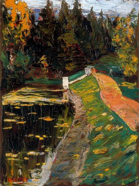 Study for sluice, 1901 - Wassily Kandinsky