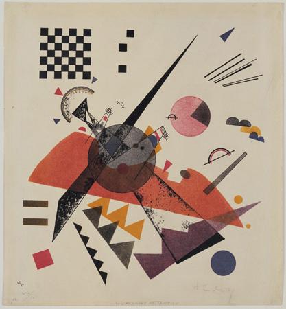 Orange, 1923 - Wassily Kandinsky